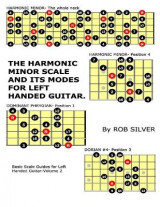Omslag - The Harmonic Minor Scale and Its Modes for Left Handed Guitar