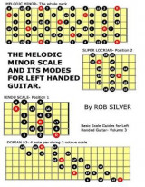 Omslag - The Melodic Minor Scale and Its Modes for Left Handed Guitar