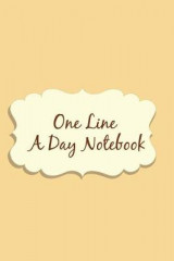 Omslag - One Line a Day Notebook
