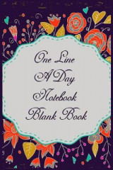 Omslag - One Line a Day Notebook Blank Book