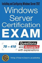 Omslag - Microsoft 70 - 410 Exam - Questions and Answers with Explanations