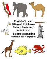 Omslag - English-Finnish Bilingual Children's Picture Dictionary of Animals Elainkuvasanakirja Kaksikielisille Lapsille