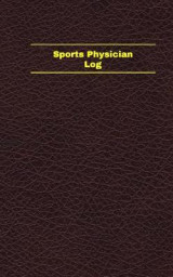 Omslag - Sports Physician Log (Logbook, Journal - 96 Pages, 5 X 8 Inches)