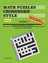 Omslag - Math Puzzles Crossword Style Vol 1