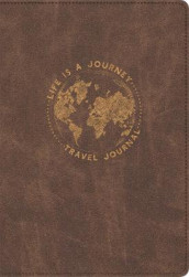 Life Is a Journey Travel Journal av Ellie Claire (Innbundet)
