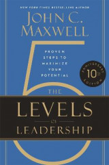 Omslag - The 5 Levels of Leadership (10th Anniversary Edition)