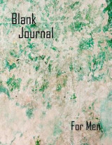 Omslag - Blank Journal for Men