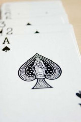 Omslag - Ace of Spades Playing Cards Journal