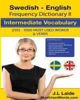 Omslag - Swedish English Frequency Dictionary II Intermediate Vocabulary