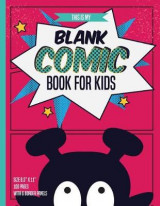 Omslag - Blank Comic Books for Kids