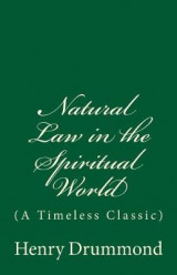 Omslag - Natural Law in the Spiritual World