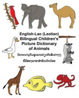 Omslag - English-Lao/Laotian Bilingual Children's Picture Dictionary of Animals