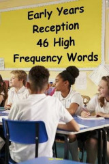 Omslag - Early Years Reception - 46 High Frequency Words