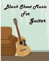 Omslag - Blank Sheet Music for Guitar