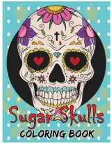 Omslag - Sugar Skulls Coloring Book