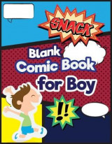 Omslag - Blank Comic Book for Boy