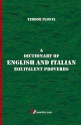 Omslag - A Dictionary of English and Italian Equivalent Proverbs