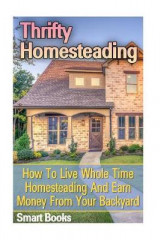 Omslag - Thrifty Homesteading