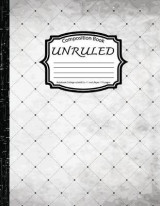 Omslag - Unruled Composition Book