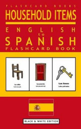 Omslag - Household Items - English to Spanish Flash Card Book