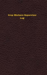 Omslag - Crop Workers Supervisor Log