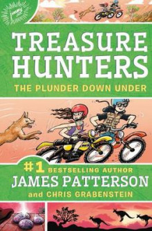 Treasure Hunters: The Plunder Down Under av James Patterson og Chris Grabenstein (Lydbok-CD)