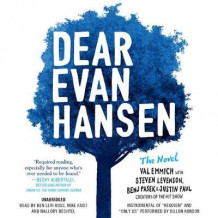 Dear Evan Hansen: The Novel av Val Emmich, Steven Levenson, Justin Paul og Benj Pasek (Lydbok-CD)
