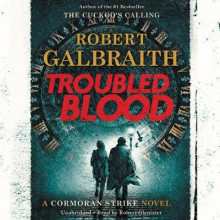 Troubled Blood av Robert Galbraith (Lydbok-CD)