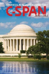 Omslag - Advances in Research Using the C-SPAN Archives