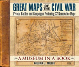 Omslag - Great Maps of the Civil War