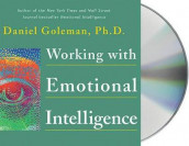 Working with Emotional Intelligence av Daniel Goleman (Lydbok-CD)