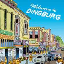 Welcome to Dingburg: Zippy the Pinhead av Bill Griffith (Heftet)