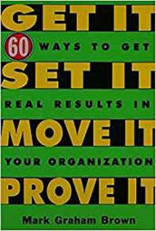 Get It, Set It, Move It, Prove It av Mark Graham Brown (Heftet)