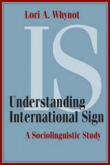 Omslag - Understanding International Sign