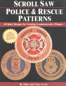 Scroll Saw Police and Rescue Patterns av Mike Lewis og Vicky Lewis (Heftet)