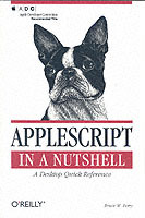Omslag - AppleScript in a Nutshell