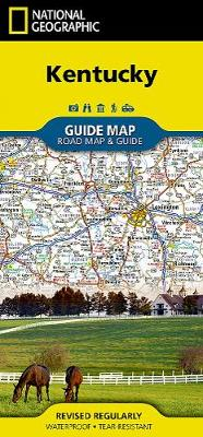 Kentucky av National Geographic Maps (Kart, falset)