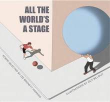 All the World's a Stage av Lee Bennett Hopkins (Innbundet)