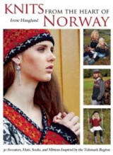 Omslag - Knits from the heart of Norway