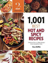Omslag - 1,001 Best Hot and Spicy Recipes