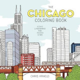 Omslag - The Chicago Coloring Book