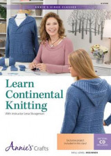 Omslag - Learn Continental Knitting Class DVD
