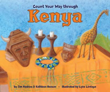 Count Your Way Through Kenya av James Haskins og Kathleen Benson (Innbundet)