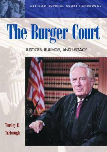 The Burger Court av Tinsley E. Yarbrough (Innbundet)