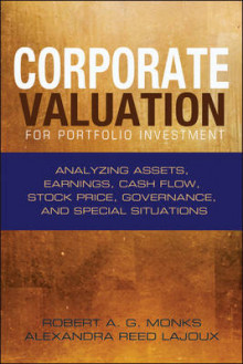 Corporate Valuation for Portfolio Investment av Alexandra Reed Lajoux og Robert A. G. Monks (Innbundet)
