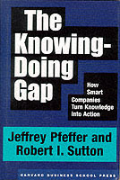 The Knowing-Doing Gap av Jeffrey Pfeffer og Robert I. Sutton (Innbundet)