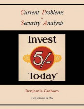 Current Problems in Security Analysis (Two volumes in One) av Benjamin Graham (Heftet)