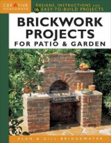 Omslag - Brickwork Projects For Patio & Garden
