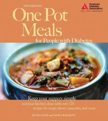 One Pot Meals for People with Diabetes av Ruth Glick og Nancy Baggett (Heftet)