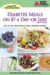 Diabetes Meals on $7 a Day?or Less! av Patti Bazel Geil og Tami A. Ross (Heftet)